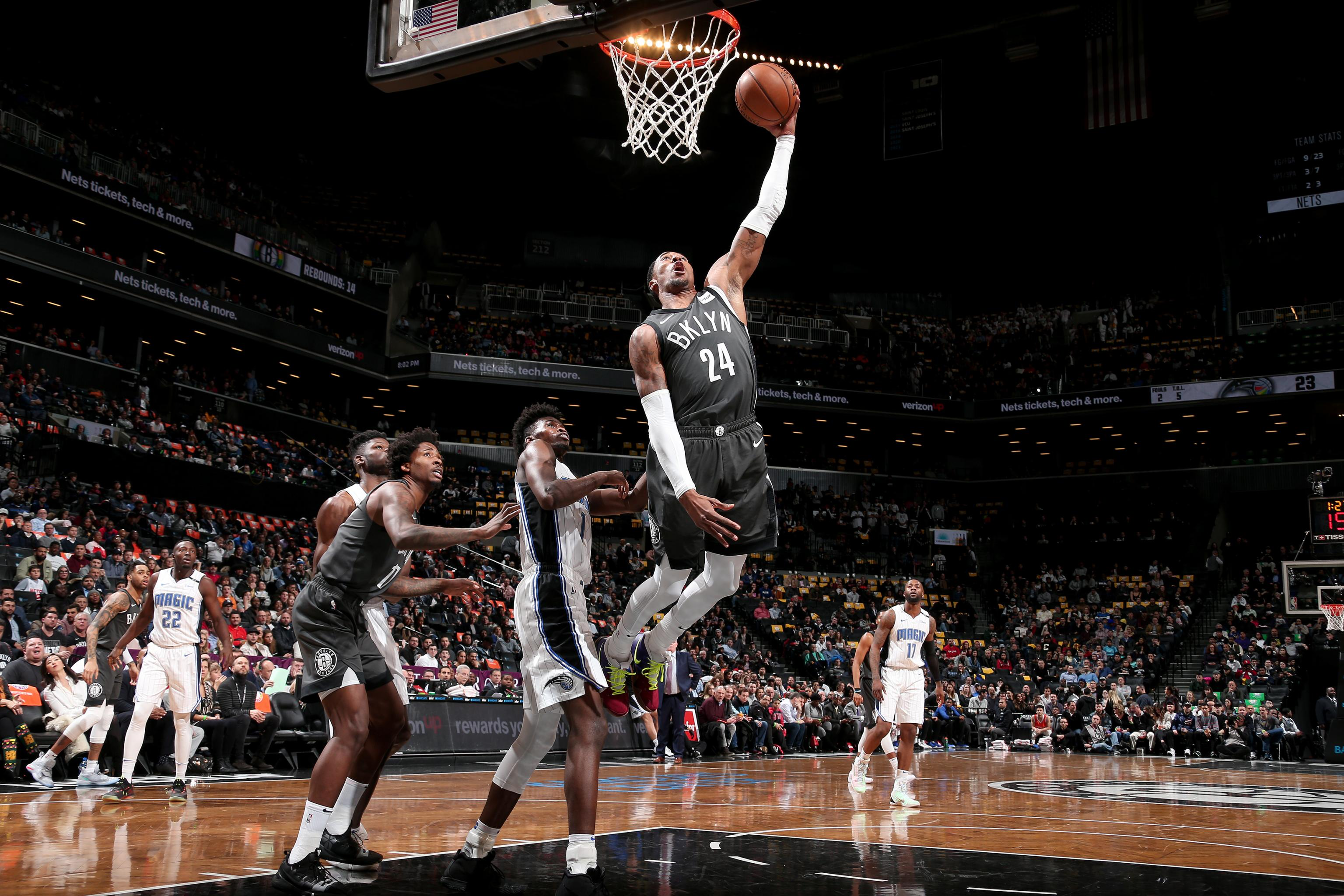 Nets Sf Rondae Hollis Jefferson Ruled Out Vs Magic With Shoulder Injury Bleacher Report Latest News Videos And Highlights