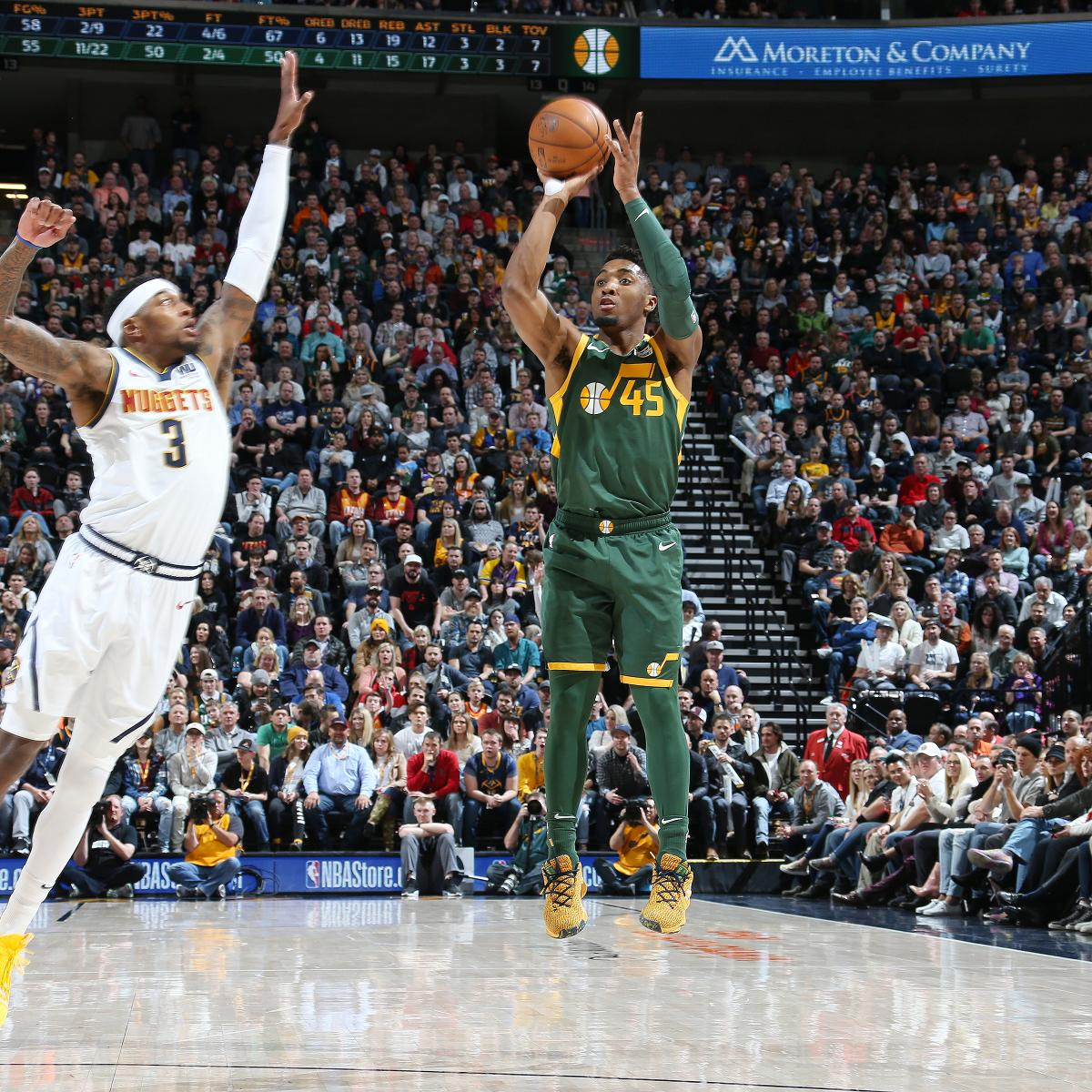 Donovan Mitchell Brilliant As Jazz Cruise Past Nikola