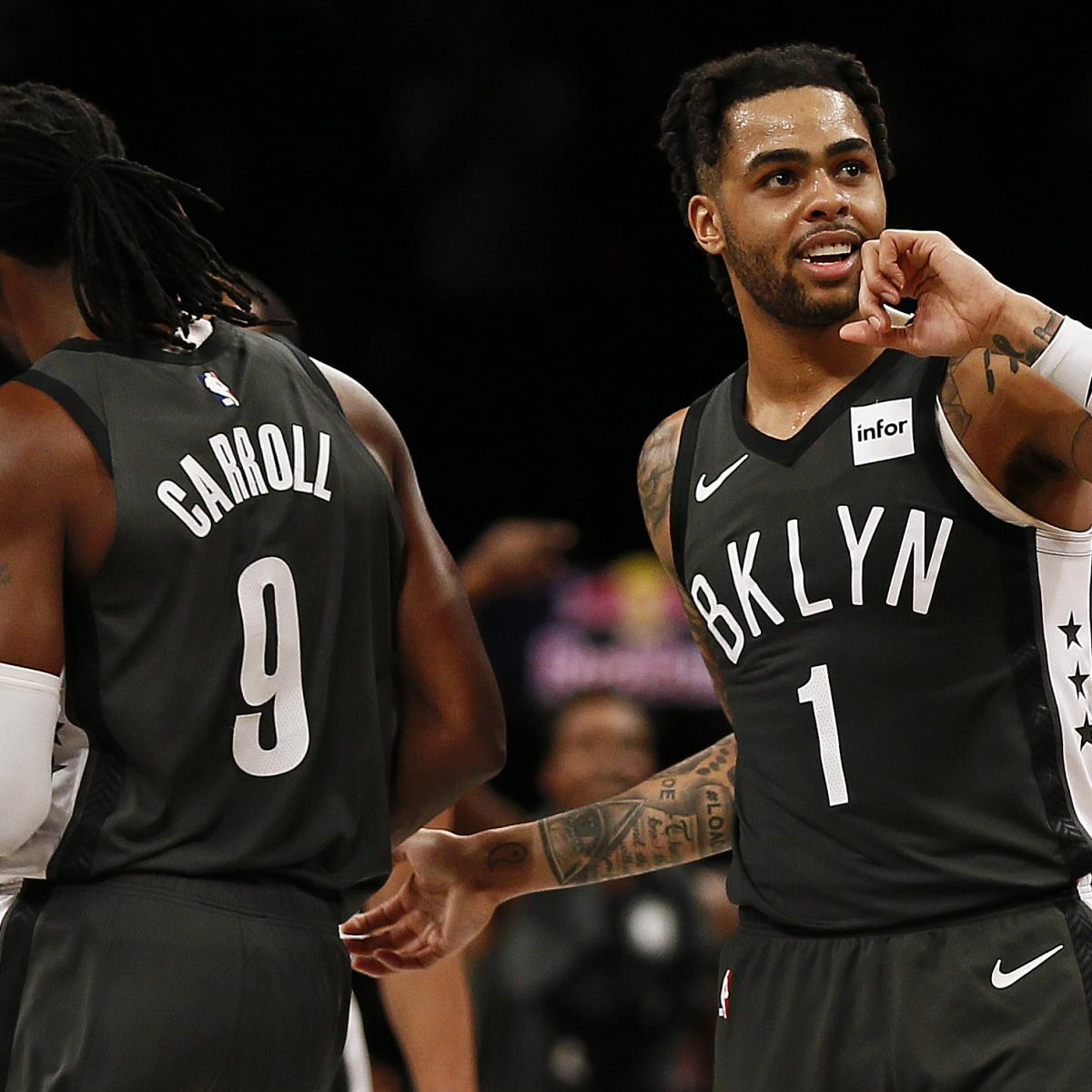 de9c2def863 Did the Lakers Punt Too Soon on Julius Randle, D'Angelo Russell and Others?  | Bleacher Report | Latest News, Videos and Highlights