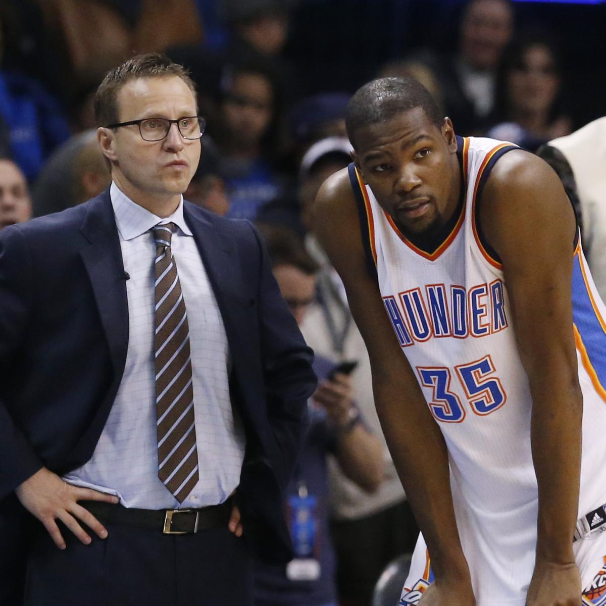 Scott Brooks: Kevin Durant Will 'Probably' Break The NBA