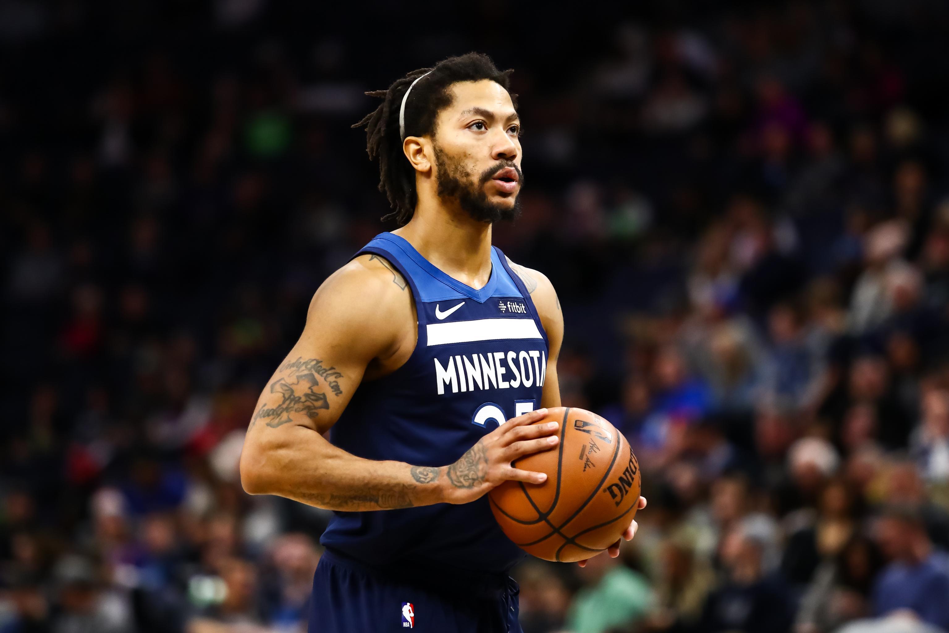 28916444b4ea Injured Wolves Derrick Rose