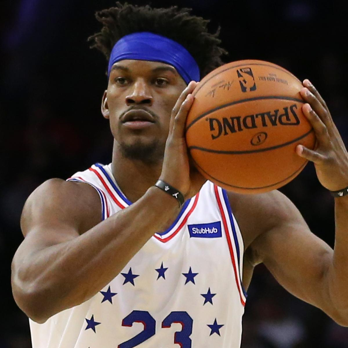 76ers' Jimmy Butler To See Specialist For Wrist Injury