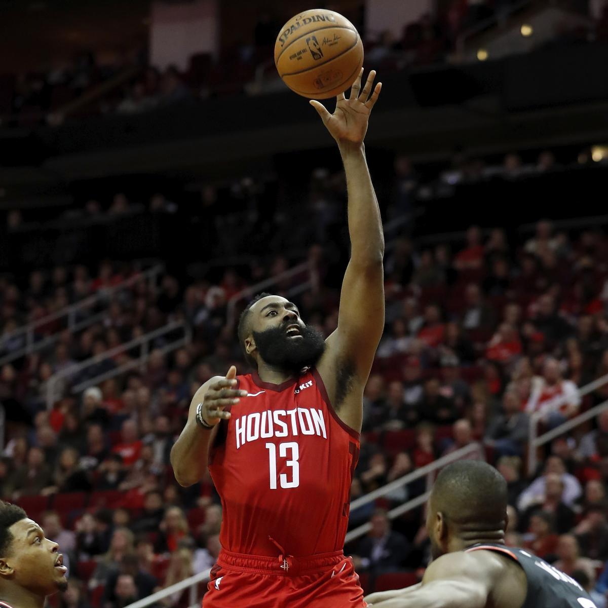 Houston Rockets Game Log: James Harden, Eric Gordon Lead Balanced Rockets Past Kawhi