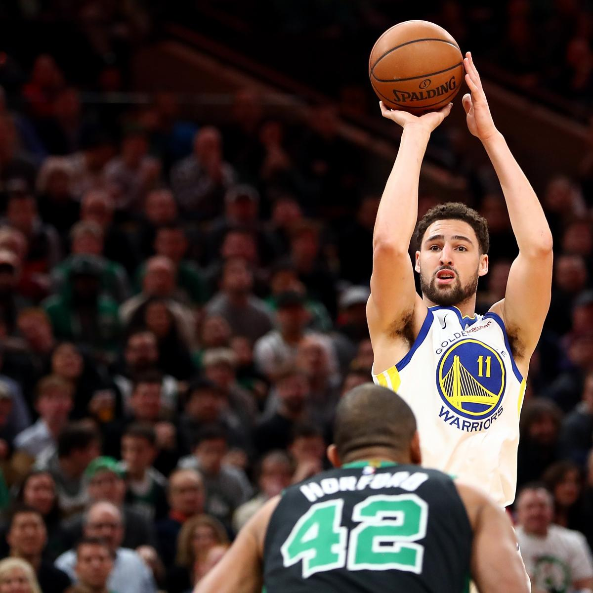 Warriors Come Out To Play Bleacher Report: Highlights: Celtics And Warriors Trade Baskets As Golden