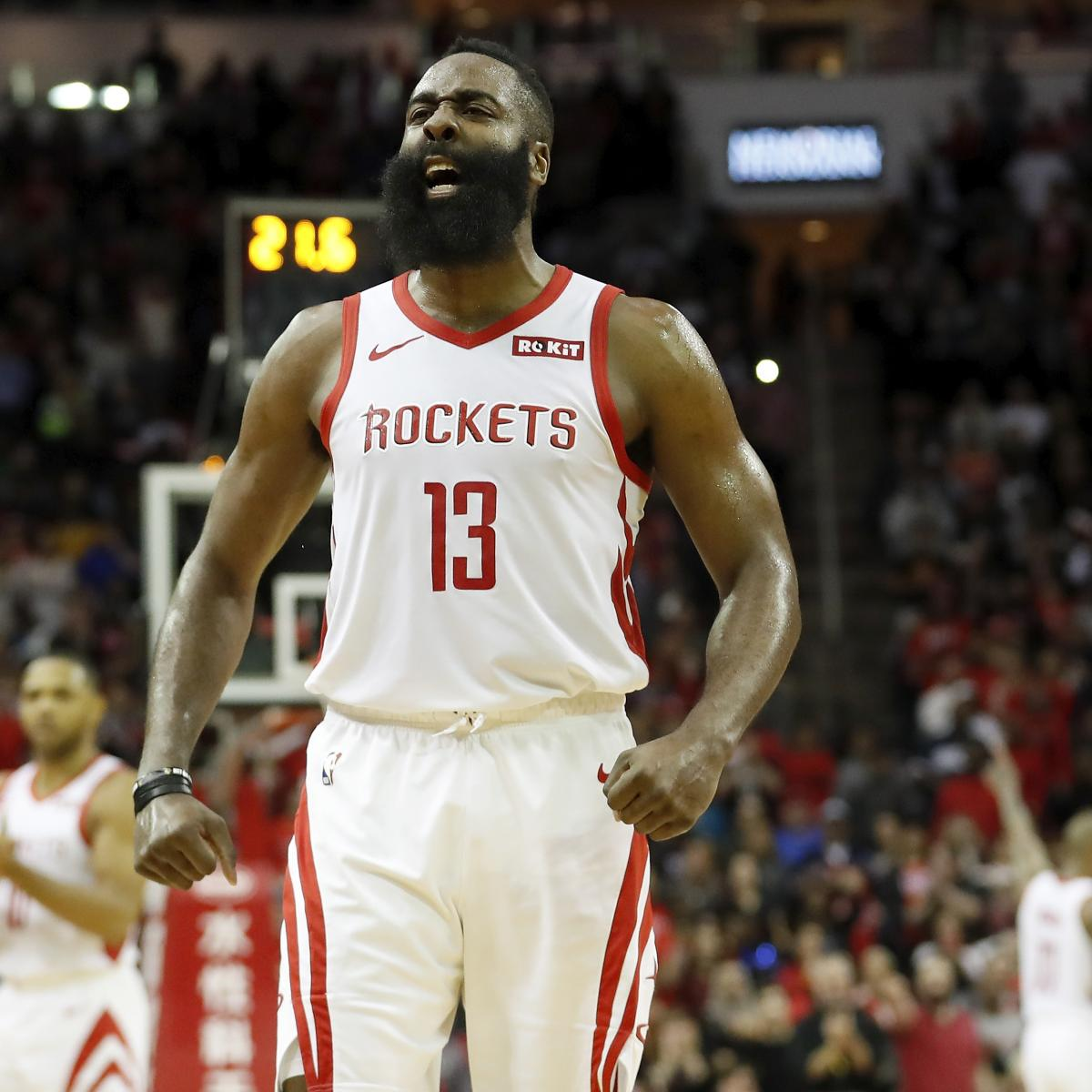 James Harden Latest News: Watch Highlights Of Rockets' James Harden Shredding The
