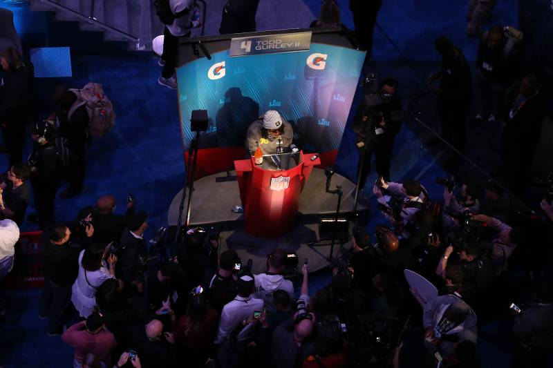 Super Bowl Opening Night 2019  Best Moments and Twitter Reaction from Media  Day 70351a1ee