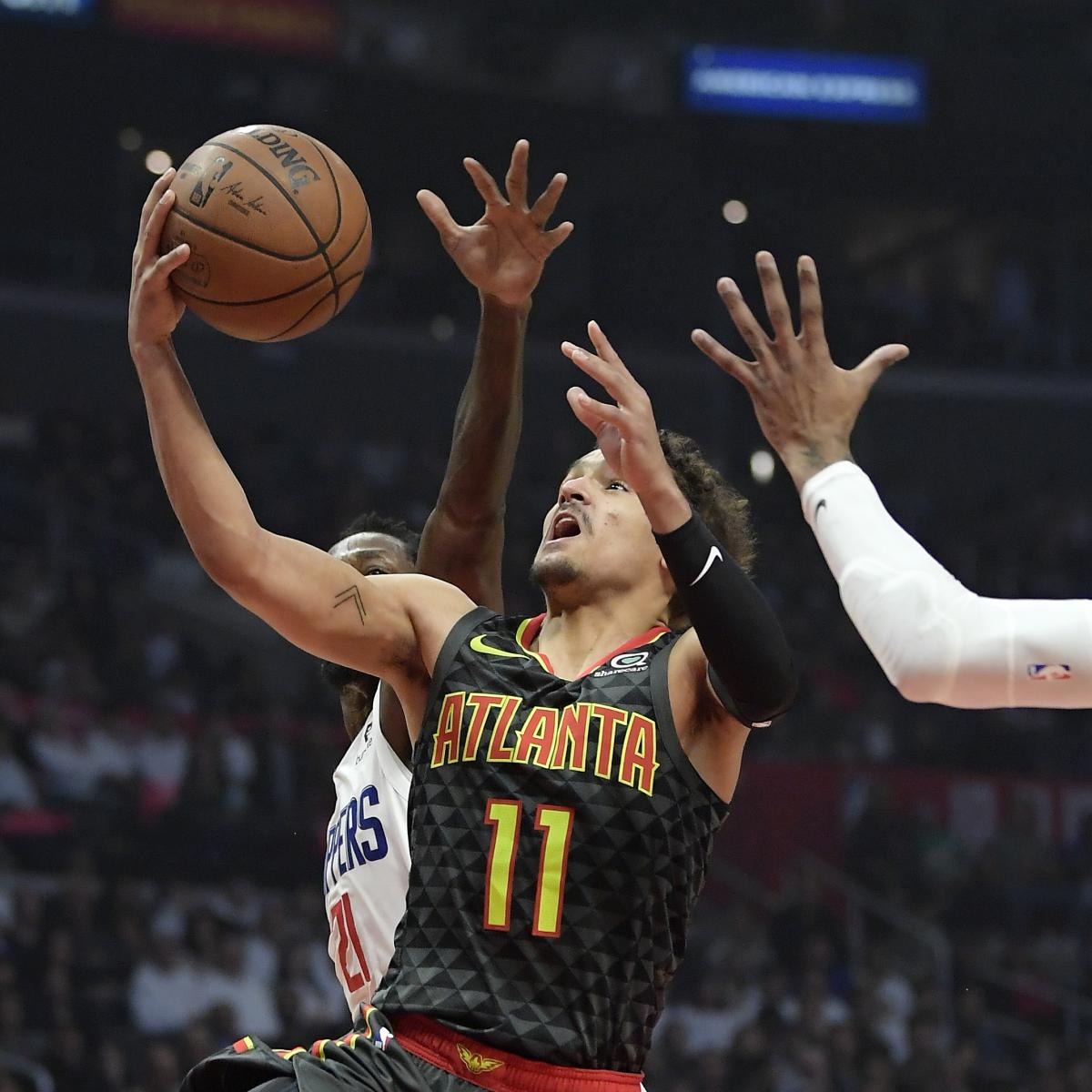 Trae Young Propels Hawks to Upset Win vs. Tobias Harris, Clippers | Bleacher Report | Latest ...