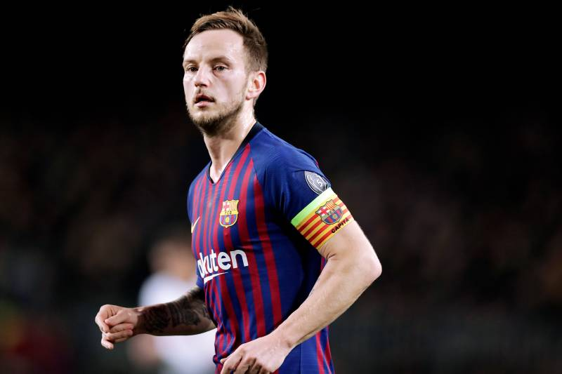 e6ab7f1a3c8 BARCELONA, SPAIN - DECEMBER 11: Ivan Rakitic of FC Barcelona during the  UEFA Champions