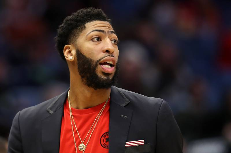 Pelicans Anthony Davis Fined 50k For Agent Rich Paul