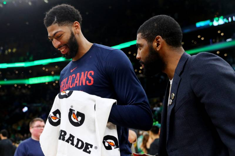 74d15ce508b3 Should the Celtics Just Trade Kyrie Irving for Anthony Davis ...