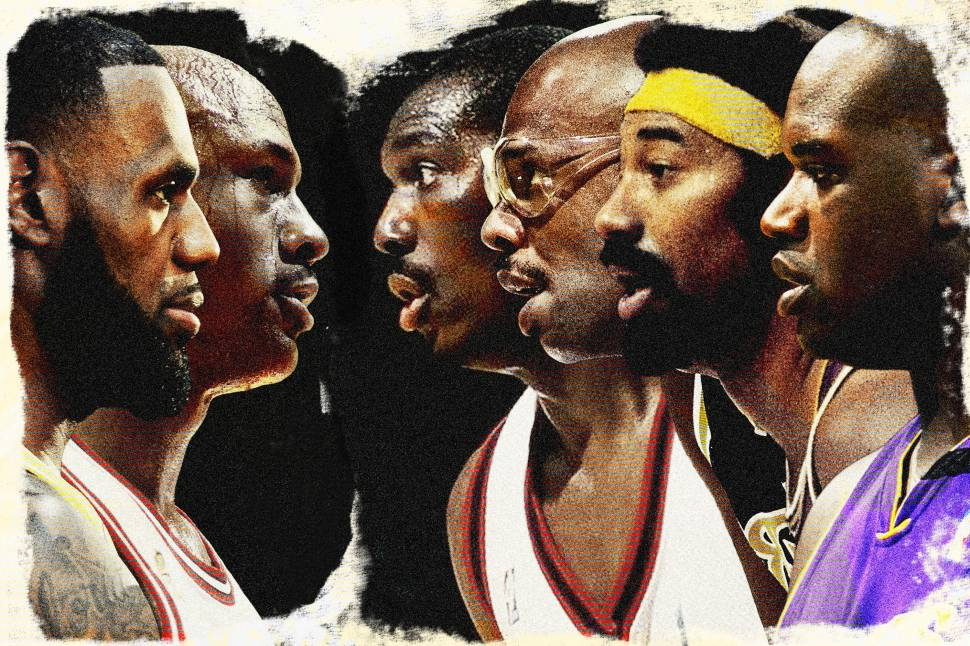 ac95b4993f6 Not a 2-GOAT Race. Jordan and LeBron dominate the