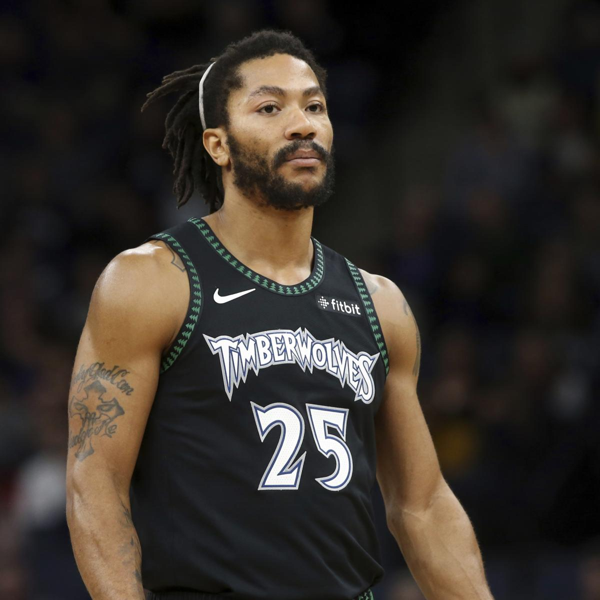 bc9b9e3d5 Video: Derrick Rose Shares Trailer for 'Pooh: The Derrick Rose Story' |  Bleacher Report | Latest News, Videos and Highlights
