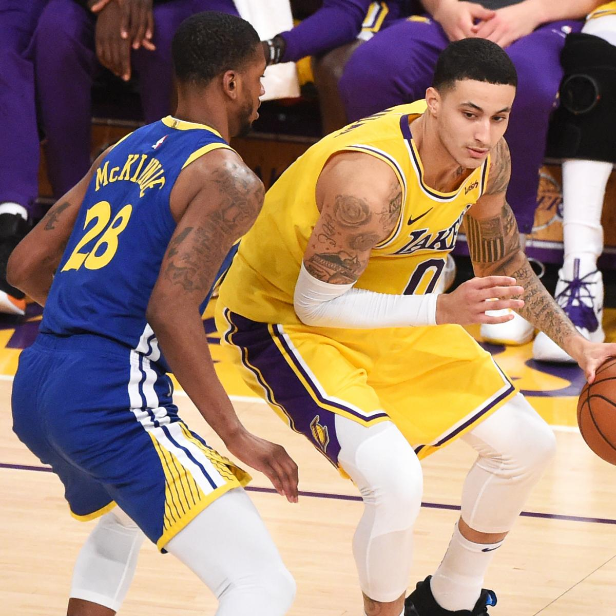Nuggets X Clippers: Lakers News: Kyle Kuzma's X-Ray On Ankle Injury Suffered