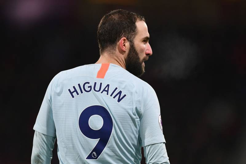 547d45166 Maurizio Sarri Says Gonzalo Higuain  Not in Good Shape  After ...