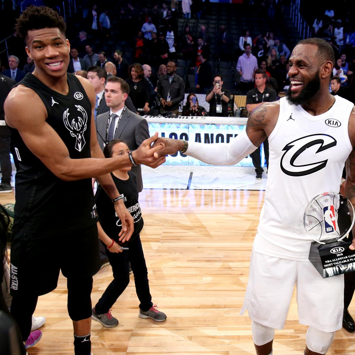 NBA All-Star Game 2019 Draft: TV Schedule For LeBron Vs