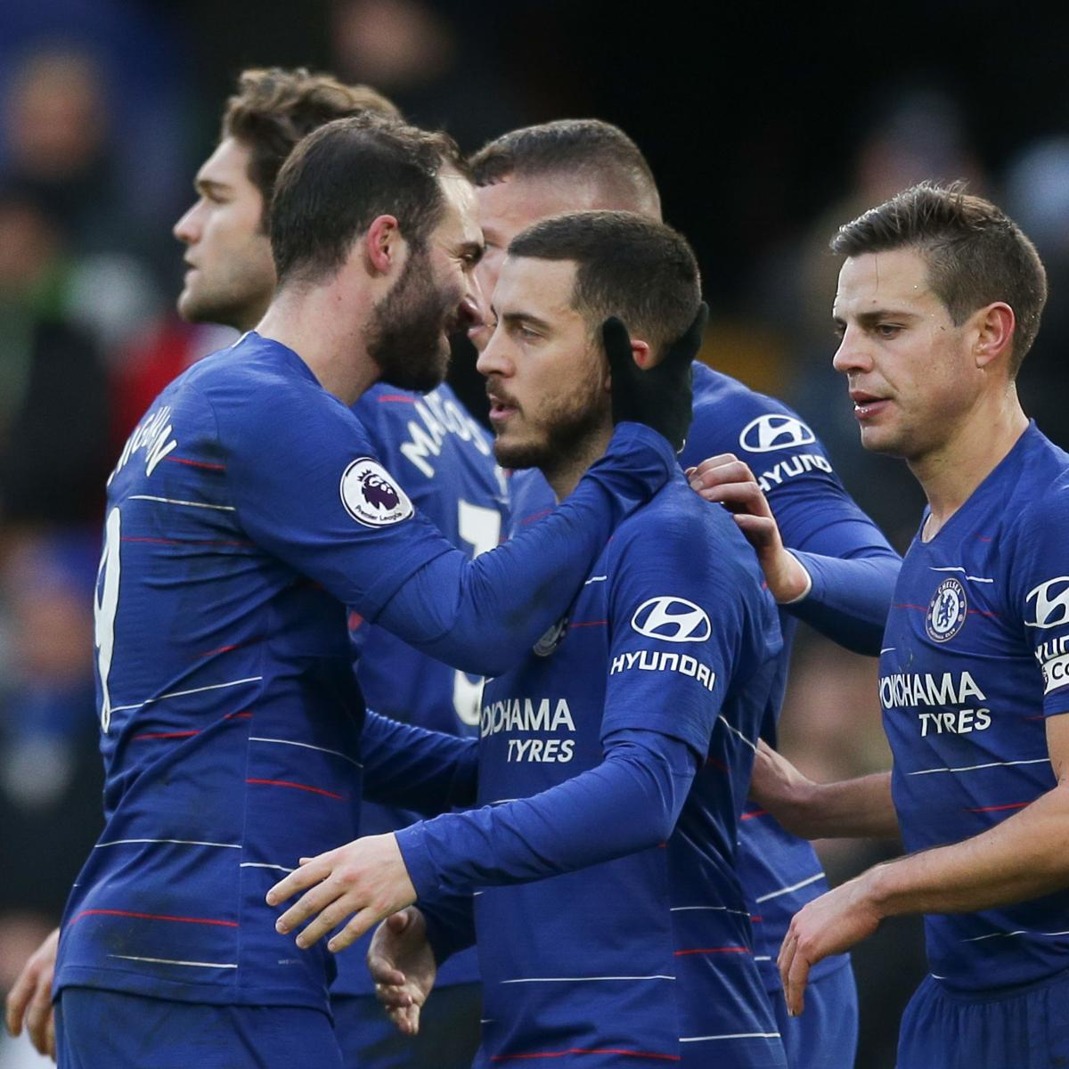 Tottenham Vs Huddersfield Live: EPL Table: Saturday's Week 25 Results, Scores And 2019