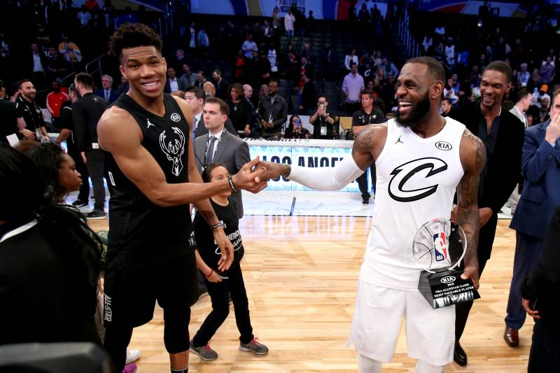 286c3bb0a7897 Giannis Asks If LeBron Picking Anthony Davis in NBA All-Star Draft Is  Tampering
