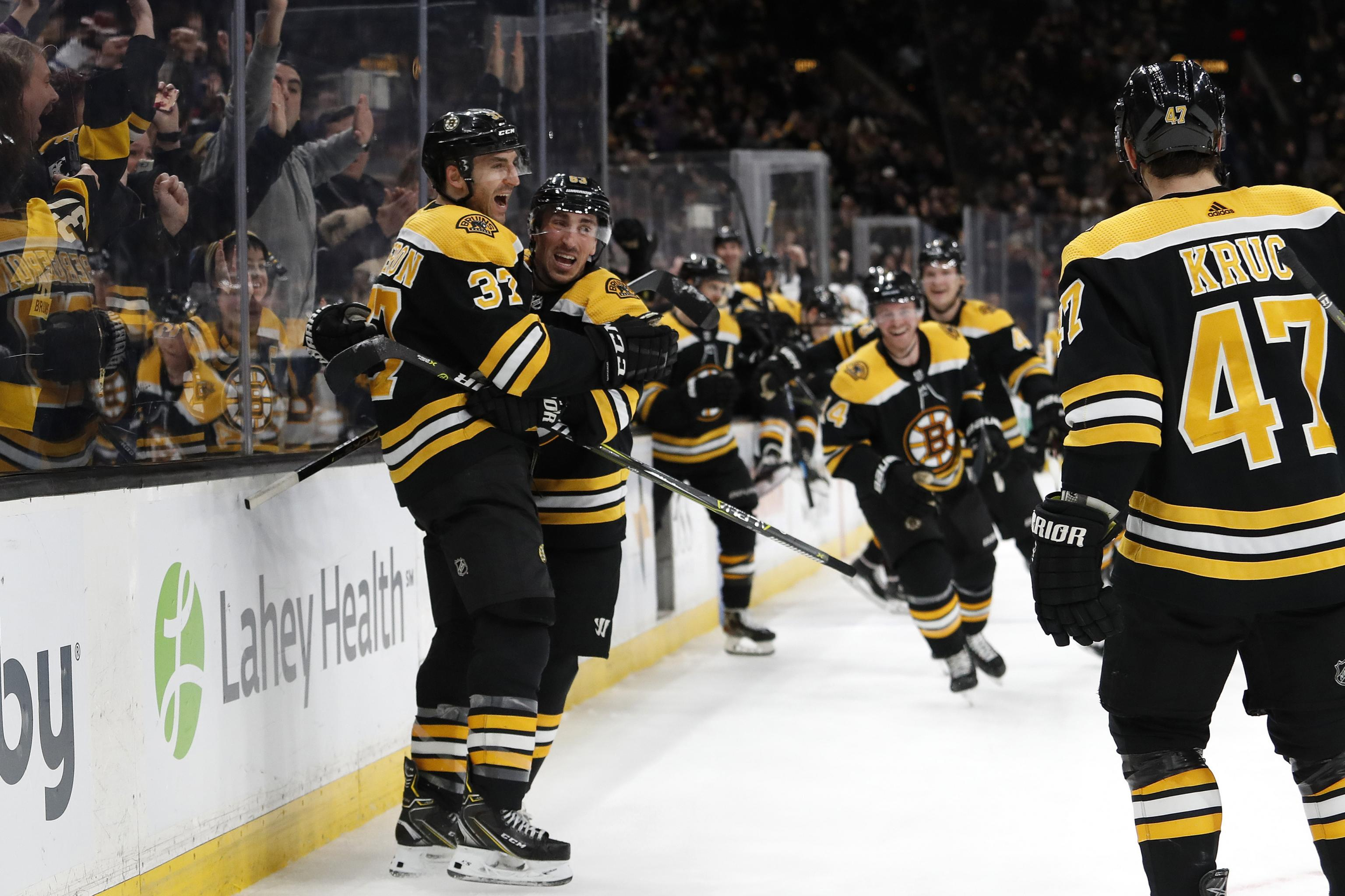 Patrice Bergeron Tyler Johnson And The Top Highlights For February 9 Bleacher Report Latest News Videos And Highlights