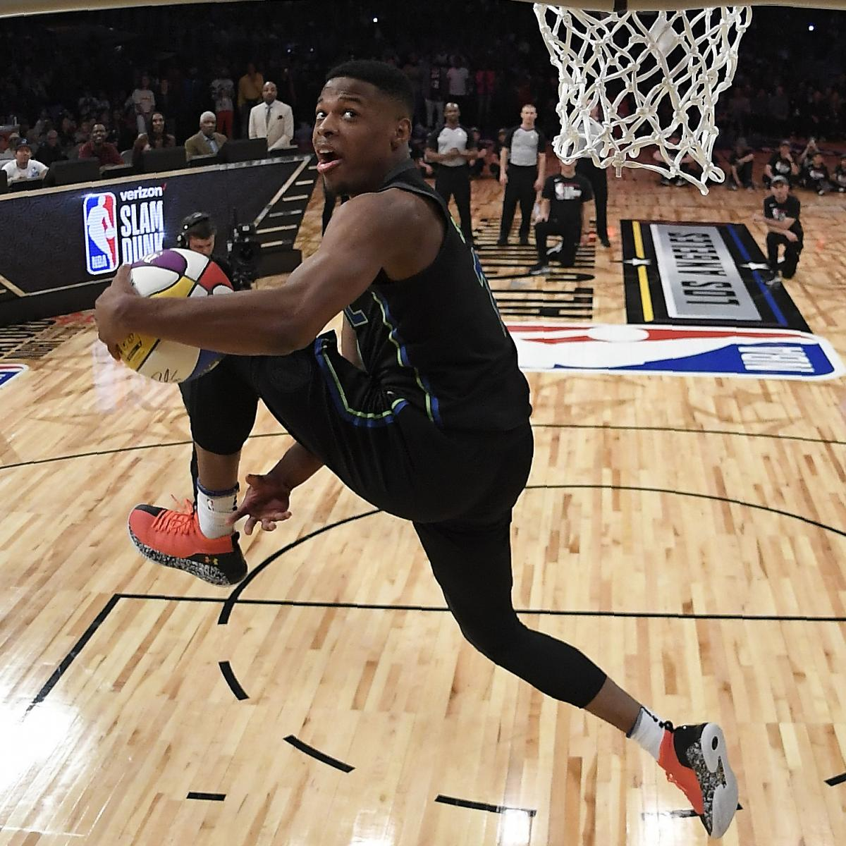 Nba Celebrity All Star Game 2019 Rosters Start Time Tv: NBA Slam Dunk Contest 2019: Odds And Predictions For