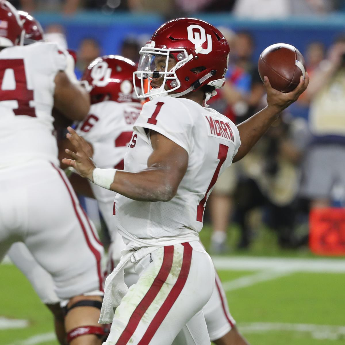 NFL Draft 2019  Complete Order and Predictions Ahead of Scouting Combine  9231aae19