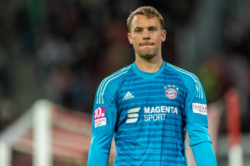 dcb737494 Manuel Neuer Expects to Recover from Injury in Time for Liverpool ...