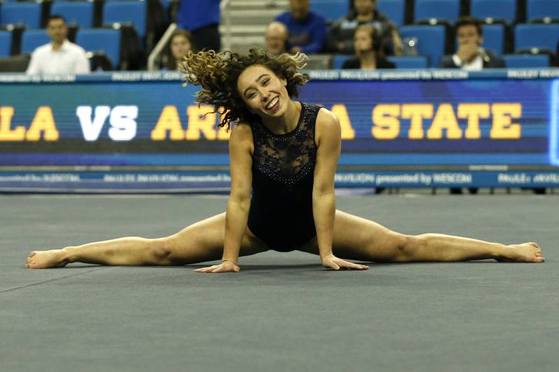Katelyn Ohashi Scores Perfect 10 In Floor Routine For Second Time In