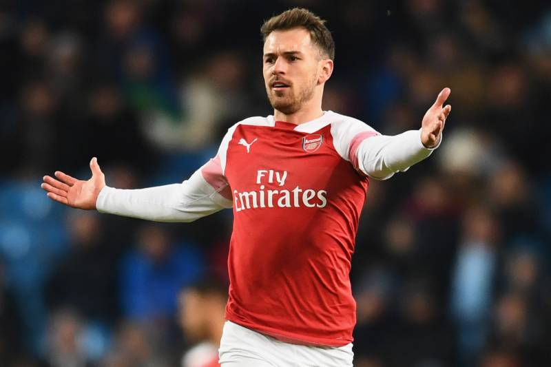 5d6560e5226 Aaron Ramsey Signs Juventus Contract Reportedly Worth More Than £400K Per  Week