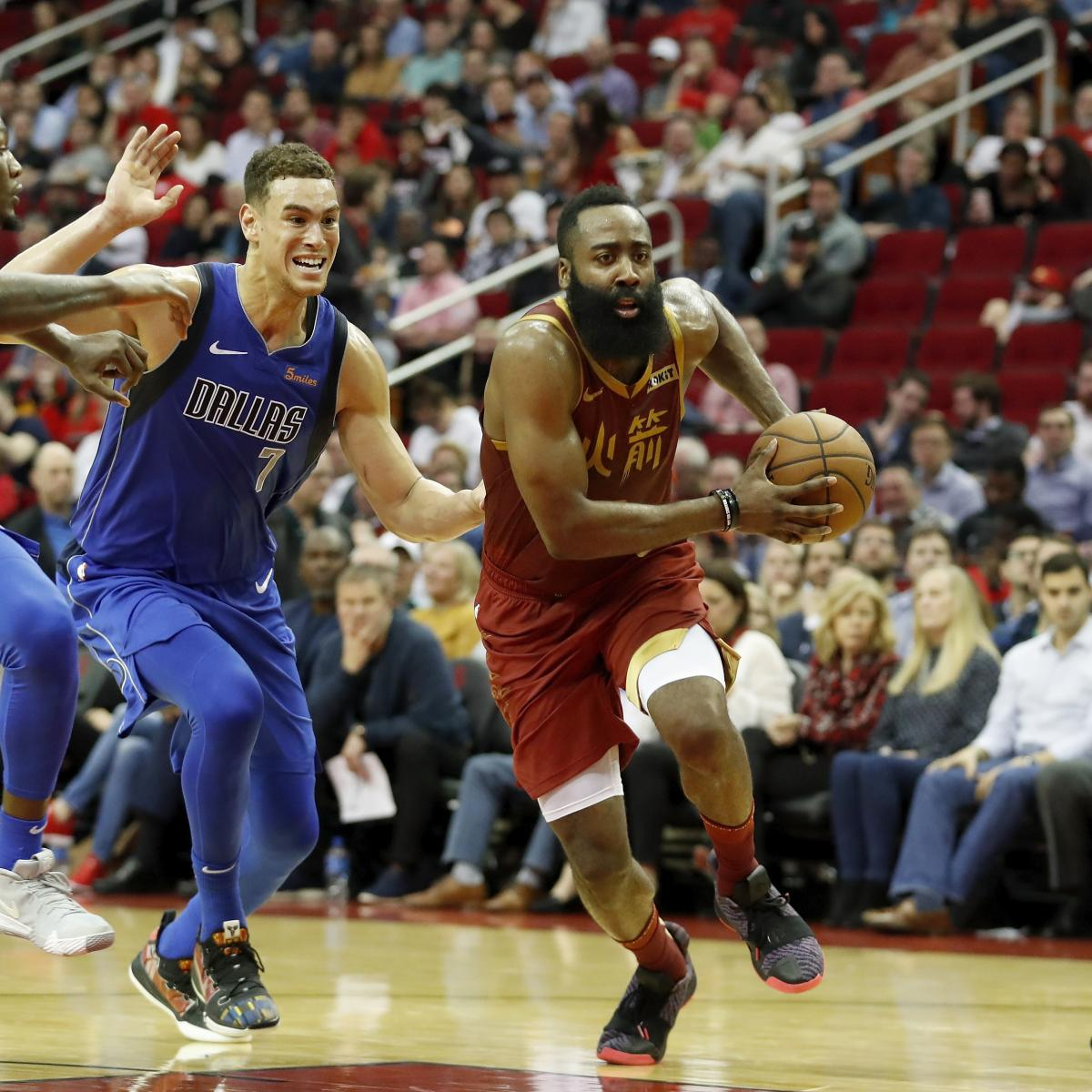 James Harden's 30-Point Streak Continues As Rockets Beat