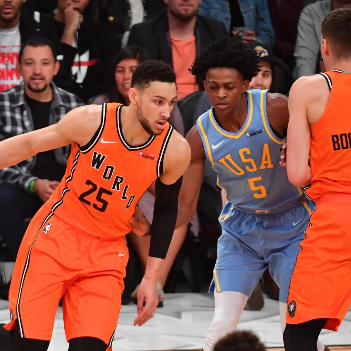 Nba Rising Stars Challenge: NBA Rising Stars Challenge 2019: Rosters, Snubs