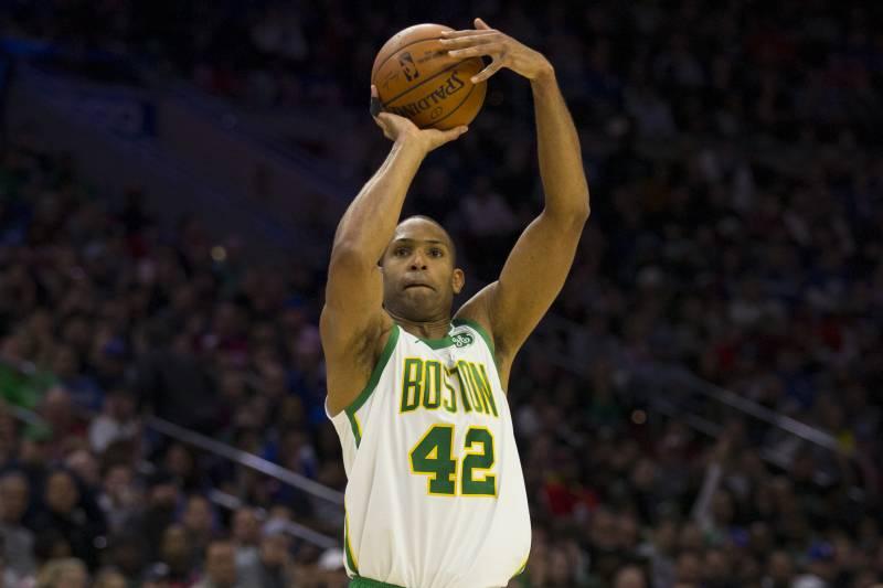 e32317169 Al Horford Leads Kyrie Irving-Less Celtics Past Ben Simmons