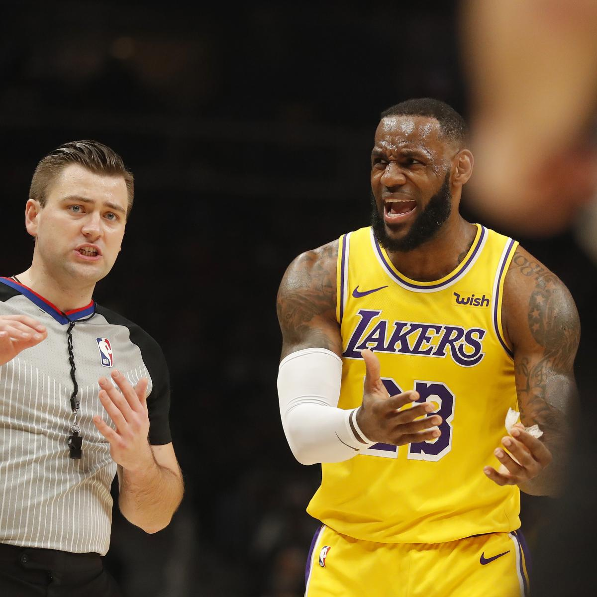 LeBron James, LA Lakers Are Officially Long Shots to Make the Playoffs