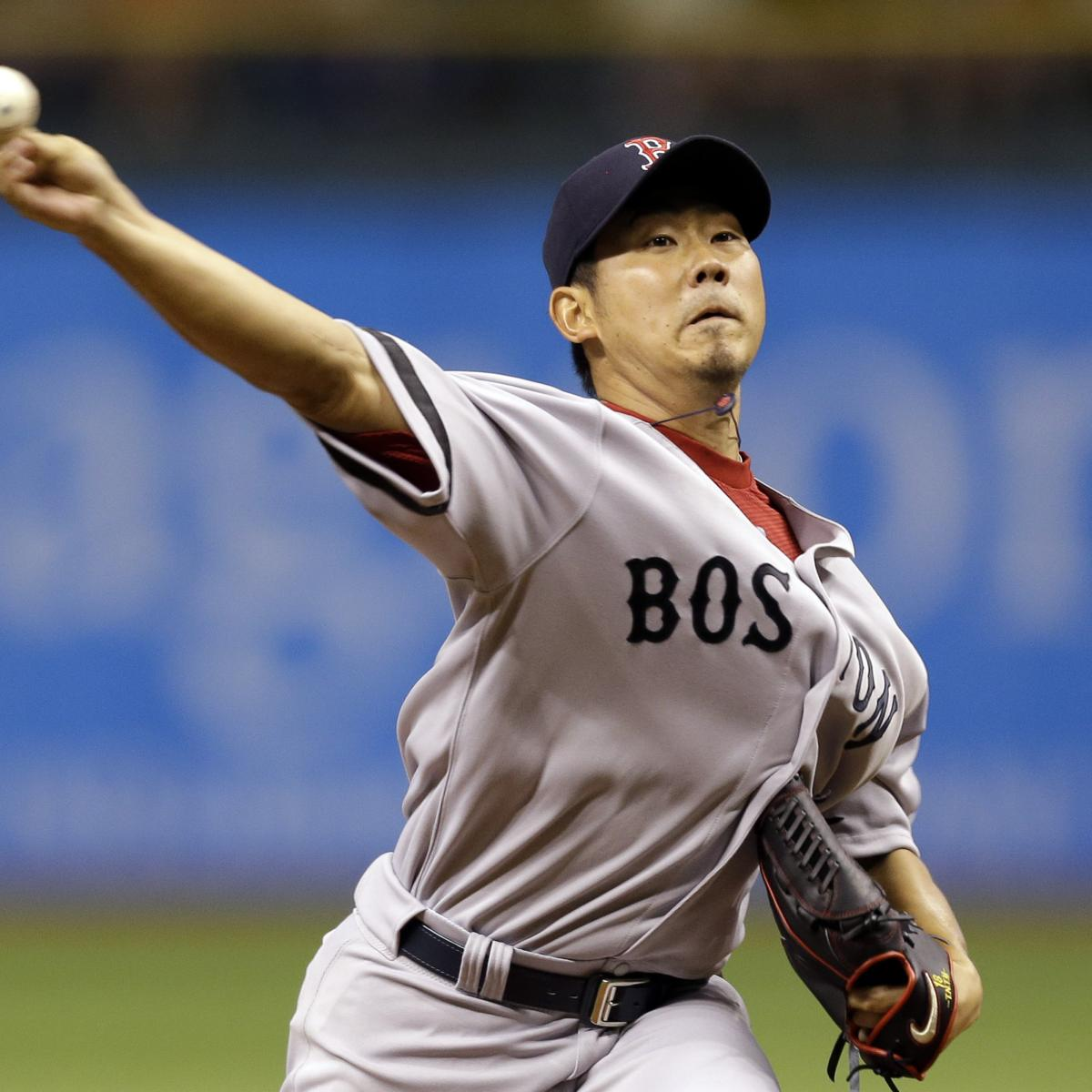 cec66aba7 Ex-Red Sox SP Daisuke Matsuzaka Injured After Having Arm Pulled During Fan  Event