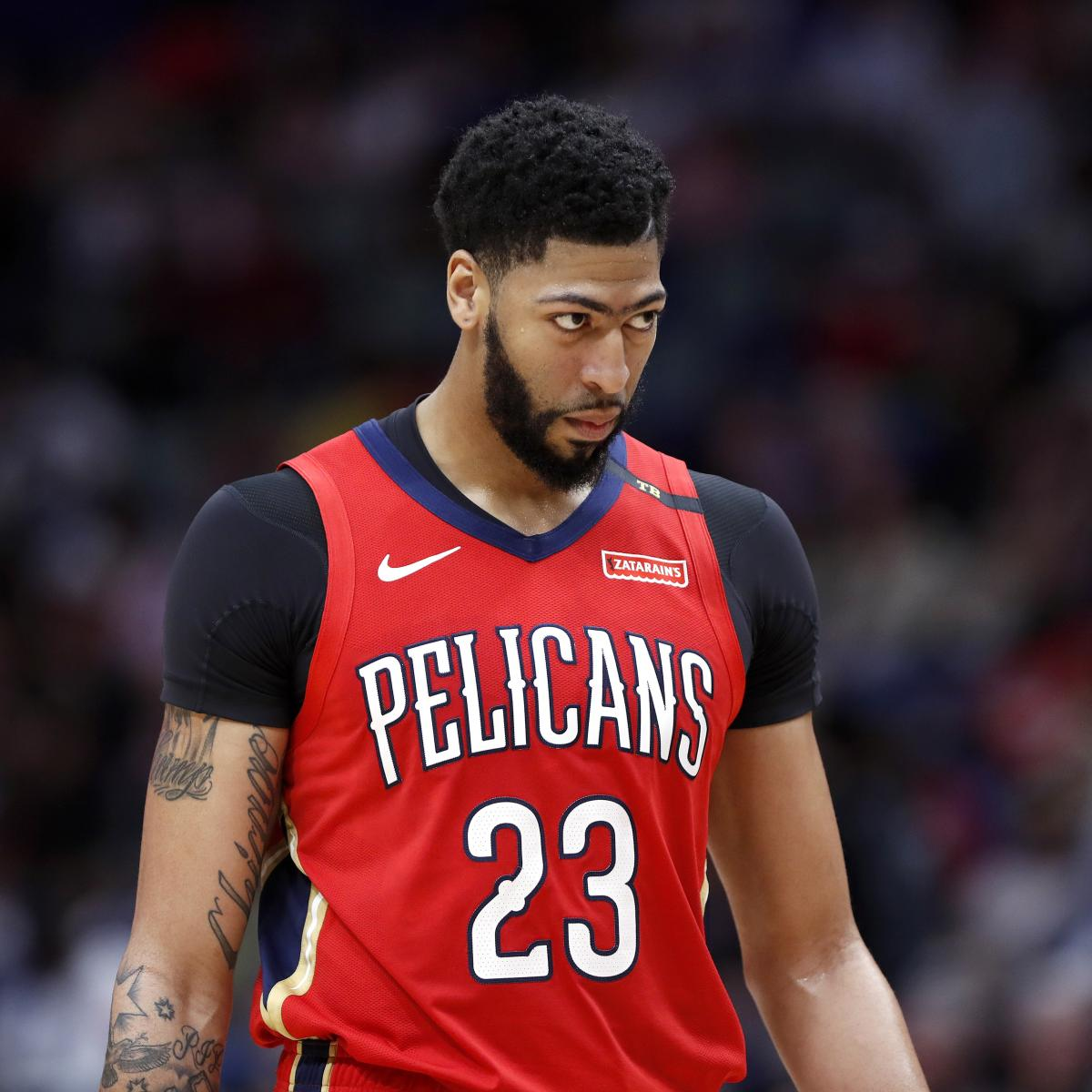 Anthony Davis Plans to Play in 2019 NBA All-Star Game Despite Shoulder  Injury  dba701acd