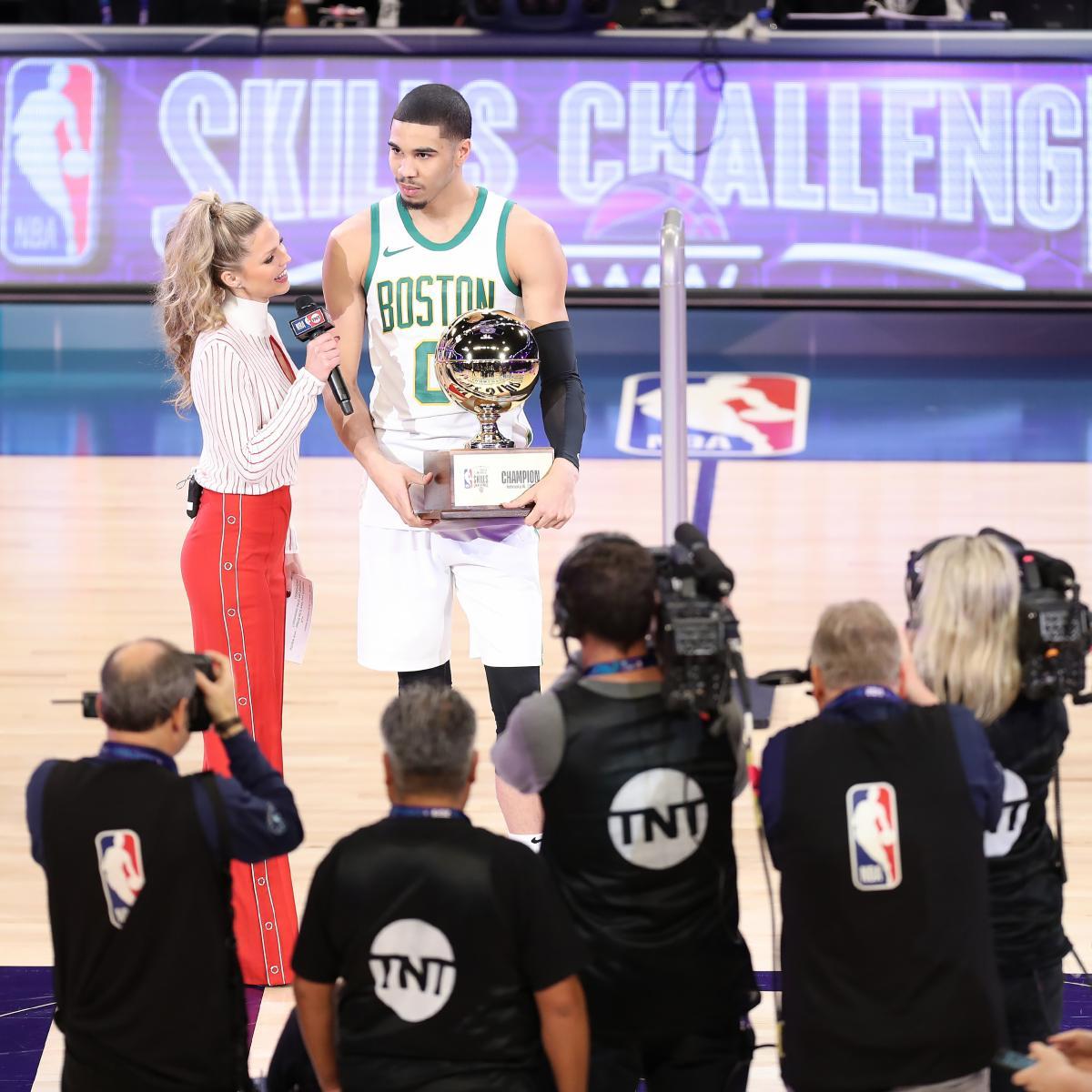 Report Luka Doncic De Aaron Fox Commit To 2019 Nba All: Jayson Tatum Wins 2019 NBA Skills Challenge: Recap