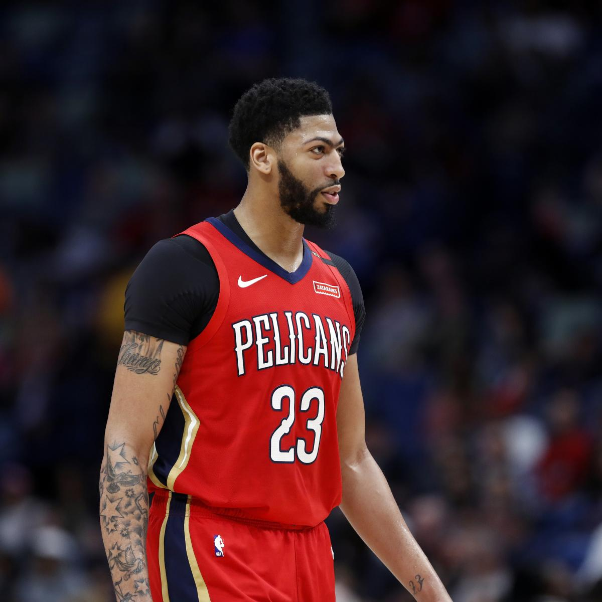 Report  Anthony Davis  Good to Play  in All-Star Game Despite Shoulder  Injury  74523c48f
