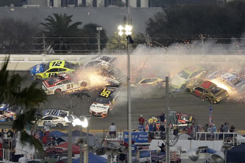 Daytona 500 2019: 22 Cars Involved in Massive Wreck During Big Race