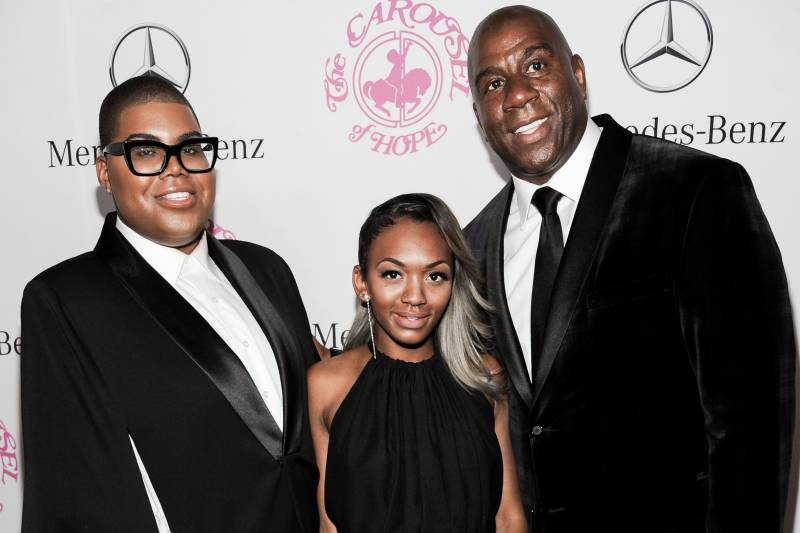 Report: LAPD Arrests Suspect for Magic Johnson's Daughter