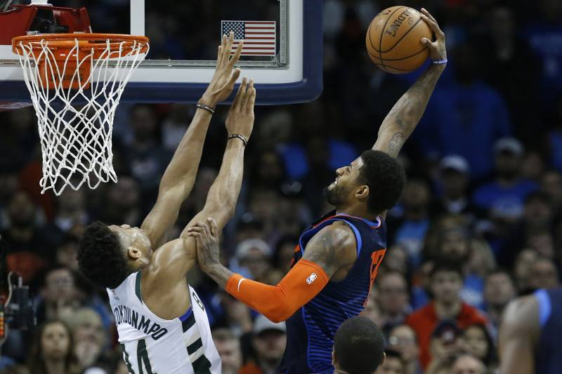Making The Case For Giannis James Harden Paul George As