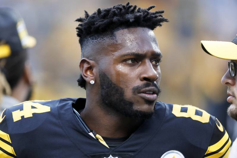 Antonio Brown Mustache >> Gm Steelers Won T Give A Discount In Antonio Brown Trade