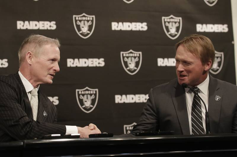 5a688162 Jon Gruden, Mike Mayock Have a Lot to Learn Quickly to Revive the ...