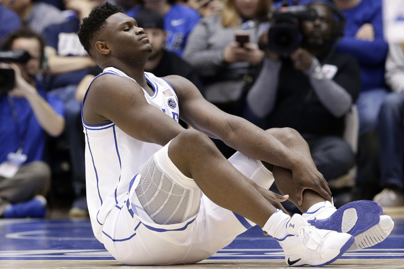 Should Zion Williamson Say Goodbye to Duke After Knee Injury Scare?