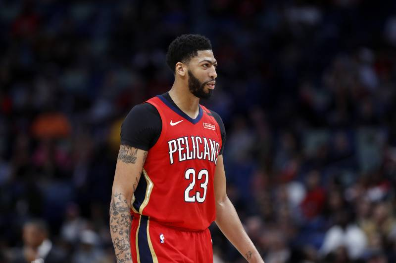 Anthony Davis Will Play Vs Pacers After Shoulder Injury