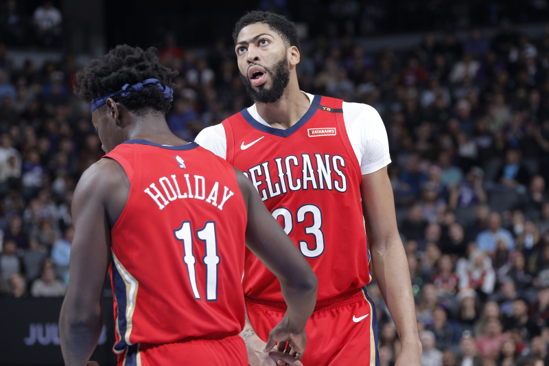 Anthony Davis, Jrue Holiday to Play Fewer Minutes as Pelicans Focus on Future