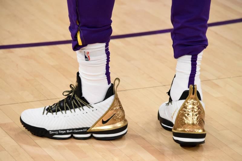 6b6b70b08c37 Kicks x NBA Nightly  King James Breaks out New LeBron 16 PE ...