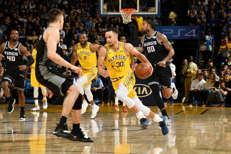 Kevin Durant, Stephen Curry Power Warriors Past Marvin Bagley III, Kings