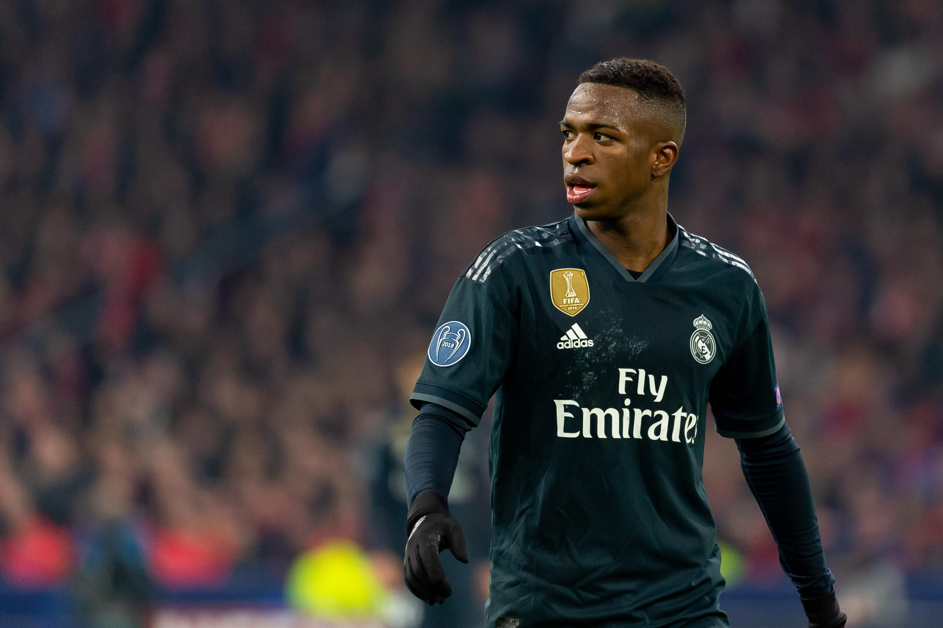 hot sale online 852ff 13869 Vinicius Jr 'Was Going to Play' More, Says Ex-Real Madrid ...