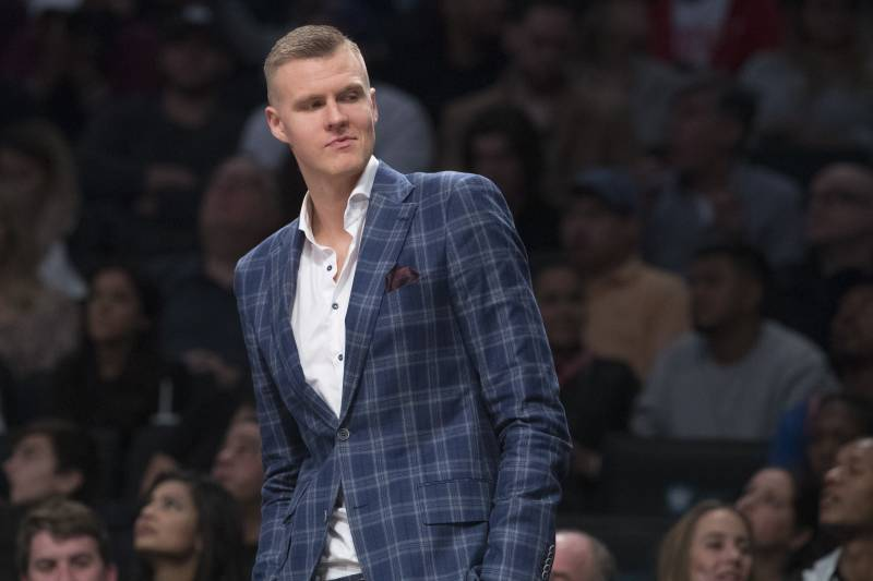 e0dd3293a578 Lowe   Don t Think  Kristaps Porzingis Was  Psyched  to Play with Kevin  Durant