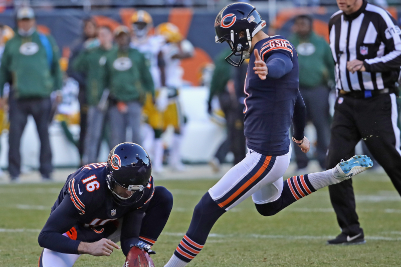 Report: Cody Parkey to Be Cut by Bears; Missed Game-Winning FG vs. Eagles