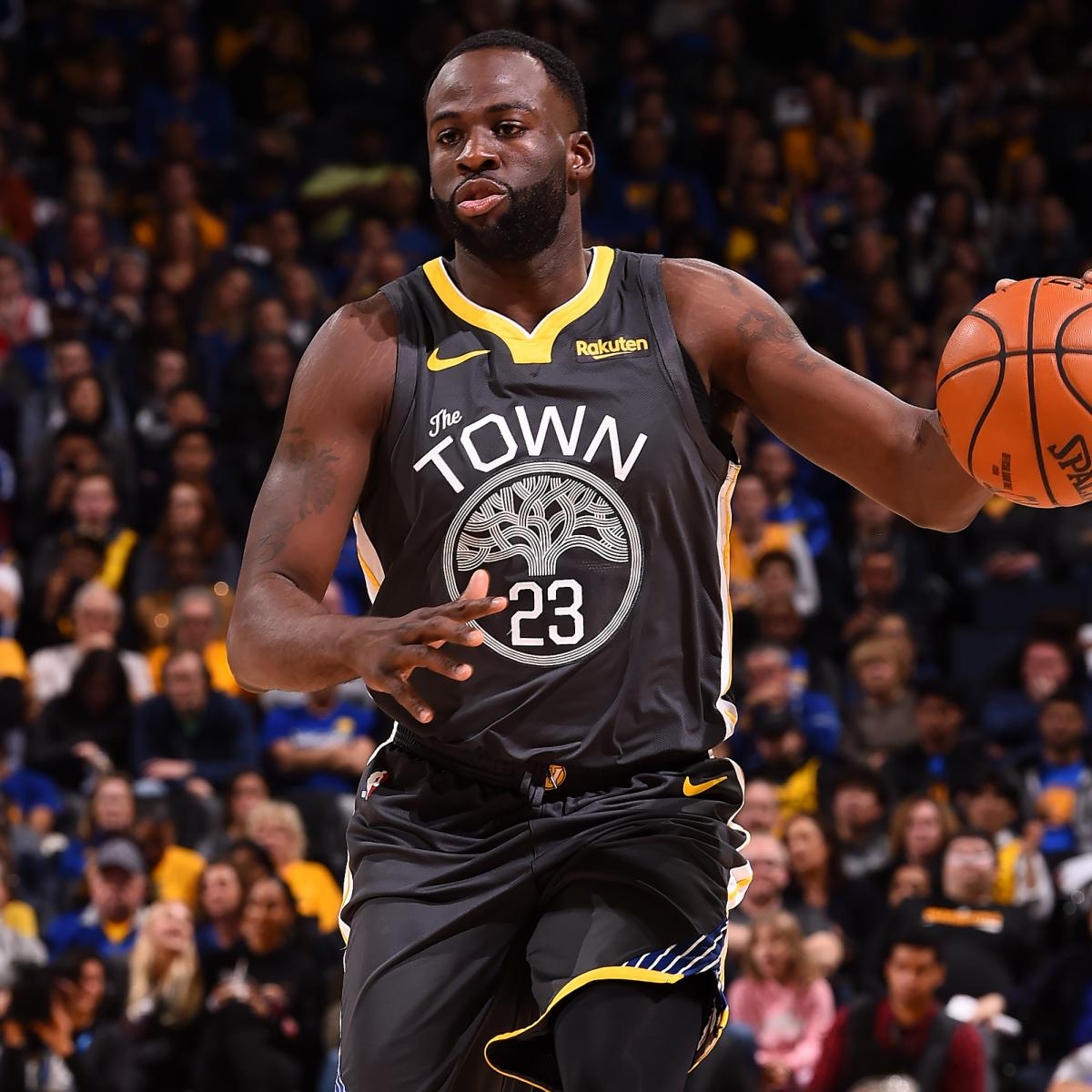 Rockets Vs Warriors Head To Head: Draymond Green Ruled Out Vs. Rockets With Ankle Injury