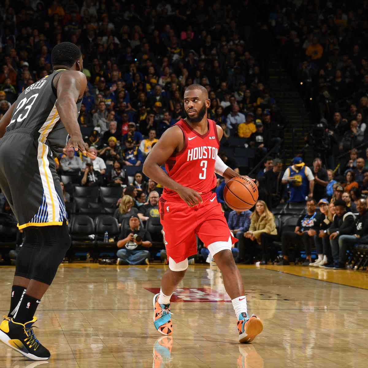 Rockets Vs Warriors Harden: Chris Paul Electric As Rockets Beat Kevin Durant, Warriors